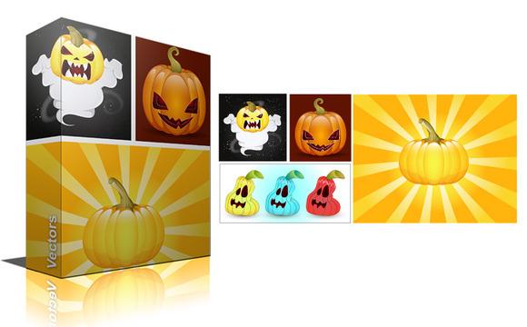 Pumpkins Jack O Lantern Vectors