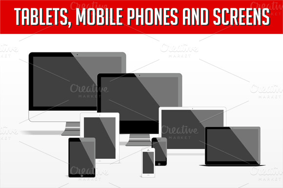 Tablets Mobile Phones And Screens