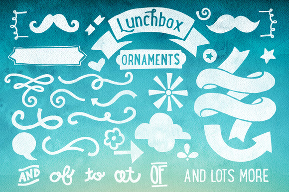 Lunchbox Ornaments