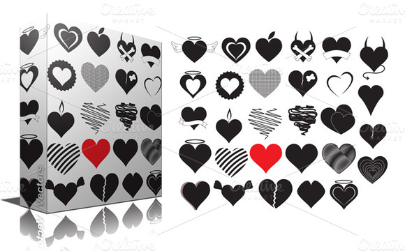 Hearts Pack