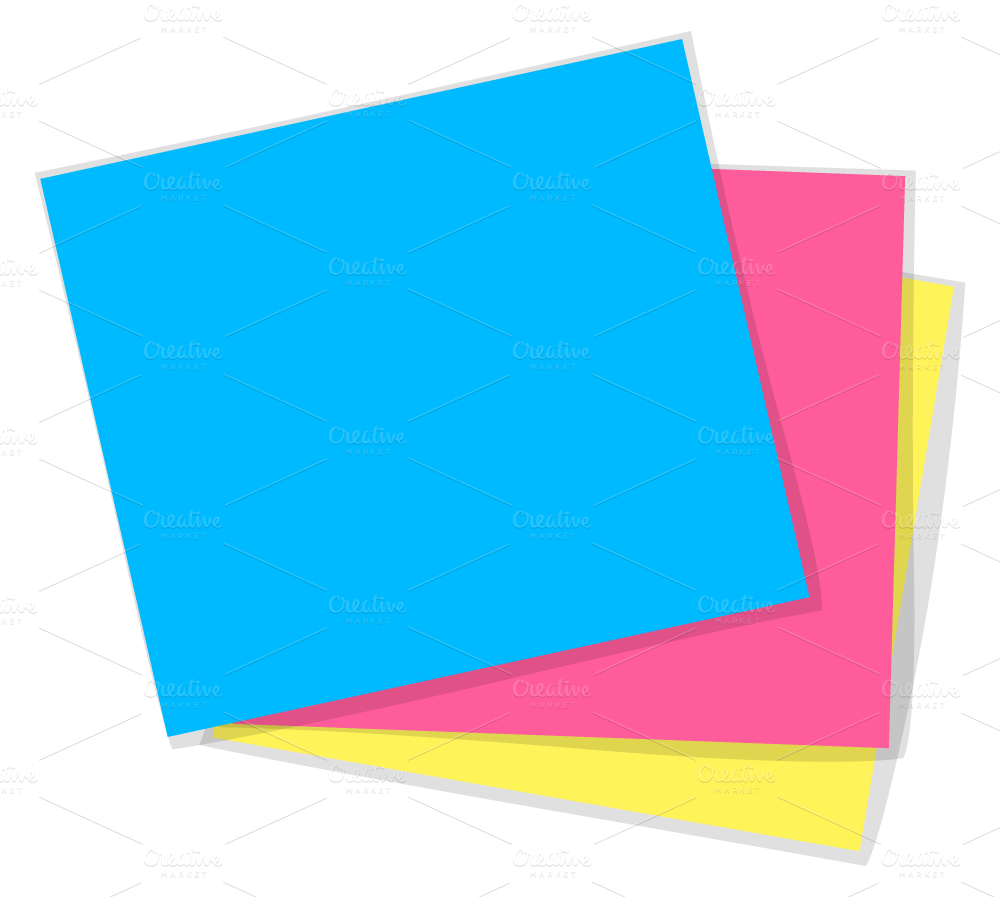 Paper & Sticky Notes ~ Graphics on Creative Market