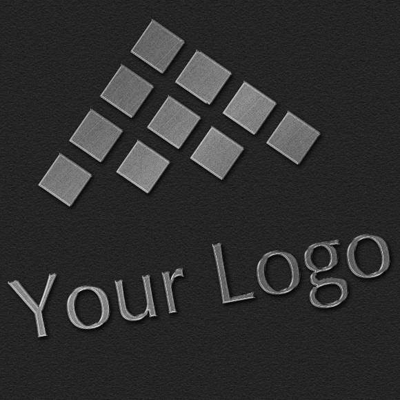 Logo Mock-ups Metal Style