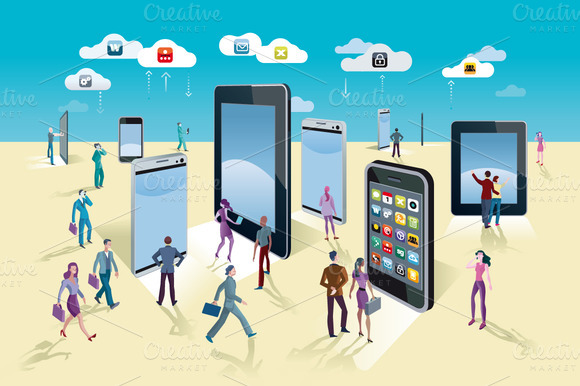 Smart Phones And Tablets Exhibition