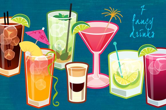 7 Fancy Drinks