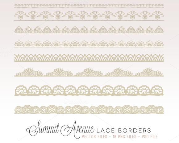 Vintage Lace Borders