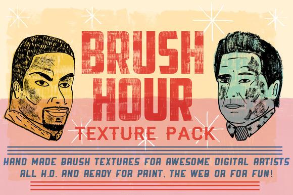 BRUSH HOUR Texture Pack