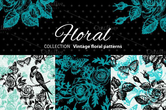 Vintage Floral Patterns
