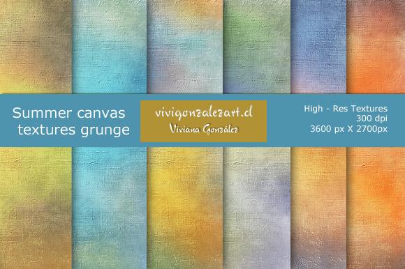 Summer Canvas Textures Grunge