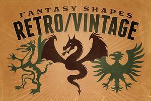 Vintage shapes - Fantasy/Heraldry