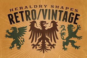 Vintage shapes - Heraldry Symbols 2