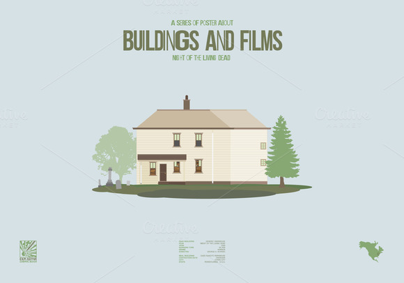 Buildings and Films - N. o. t. L. D. - Illustrations