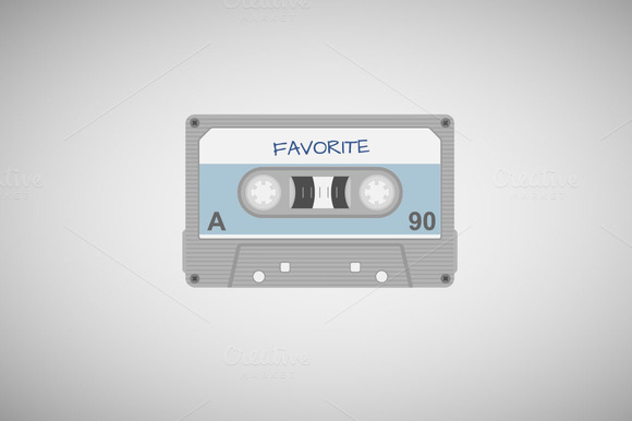 cassette tape graphic design
