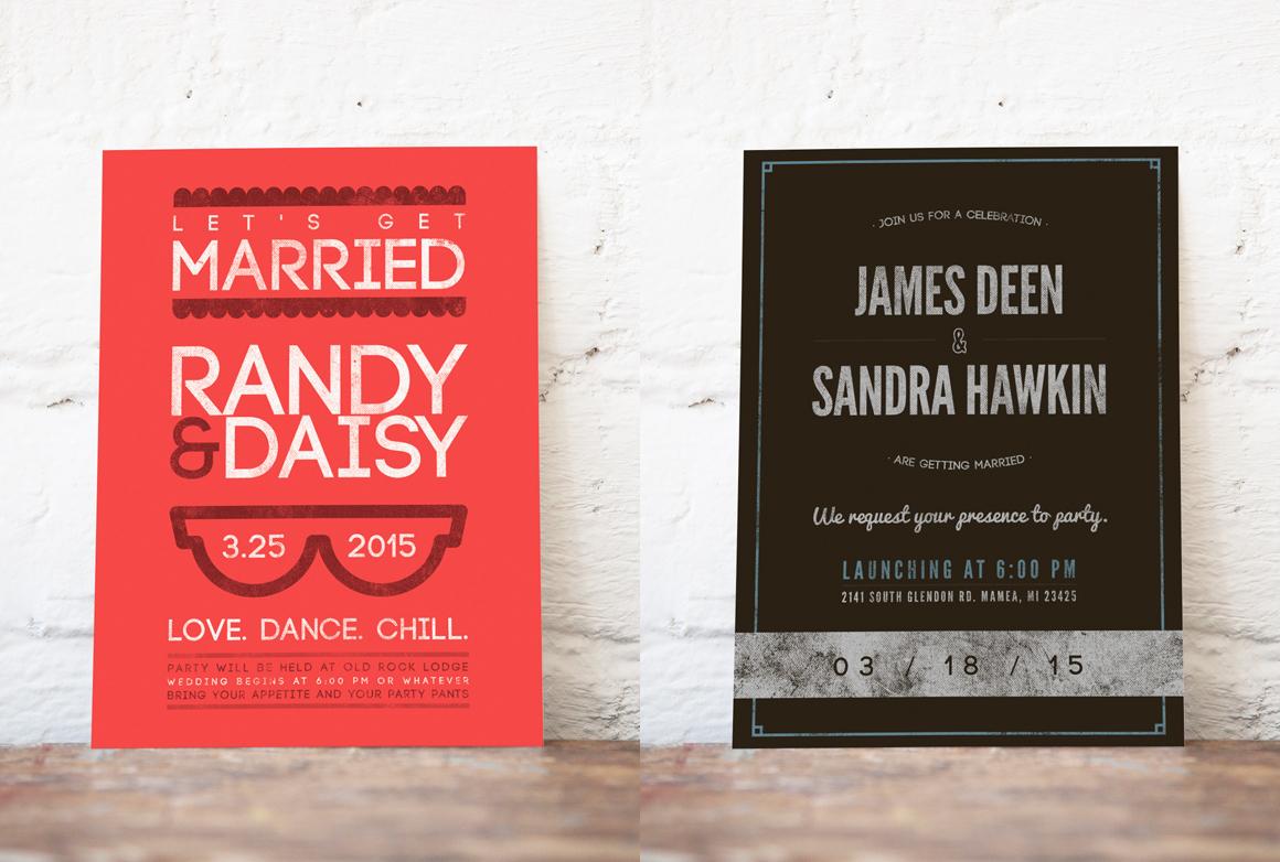 wedding invitation template pack - 28 images - thangam wedding ...