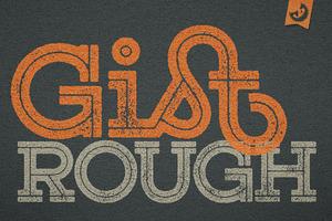 Gist Rough Font Family