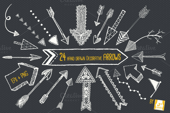 Decorative Arrow Clip Art Arrows Tat Art Decorative