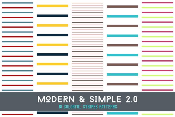 Modern & Simple 2.0 - Patterns