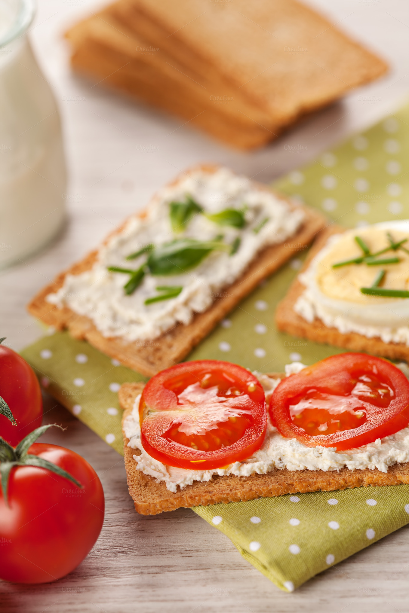 Tasty canapes breakfast meal food drink photos on for Breakfast canape
