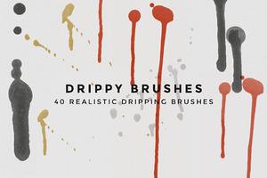 Drippy Brushes - 40 Dripping Brushes