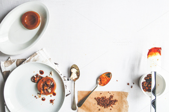 Vanilla Caramel Budino ~ Food & Drink Photos on Creative ...