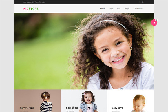 DW KidStore - WP eCommerce Theme - Commerce