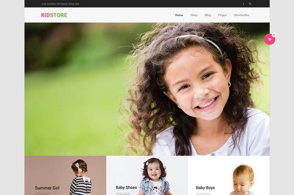 DW KidStore – WP eCommerce Theme