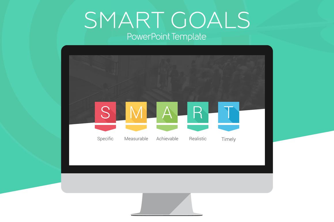 smart goals powerpoint infographic presentation. Black Bedroom Furniture Sets. Home Design Ideas
