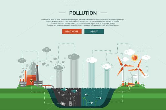 24 Ecology Icons Set Header