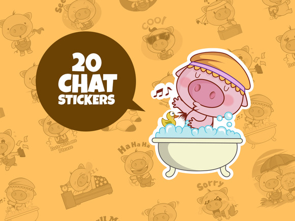 Chat Stickers V01