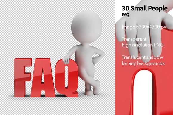 3D Small People FAQ