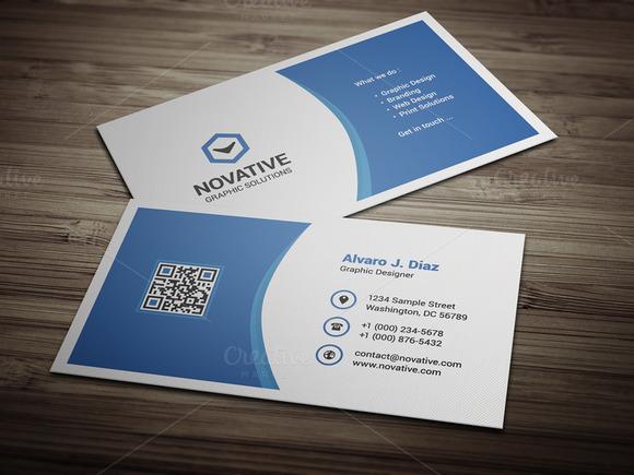 Creative Corporate Business Card