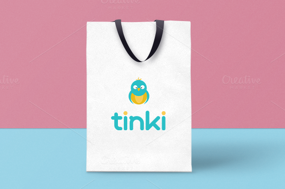 Tinki Logo For Children Shop