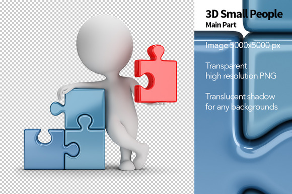 3D Small People Main Part