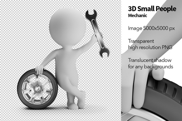 3D Small People Mechanic