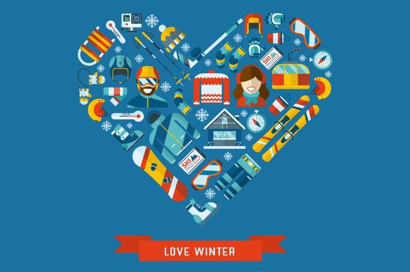 Love Winter Concept