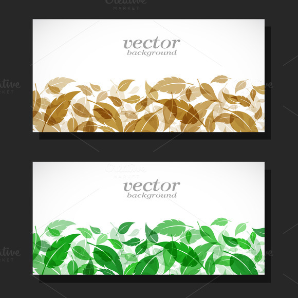 Vector Image Of An Leaves Design