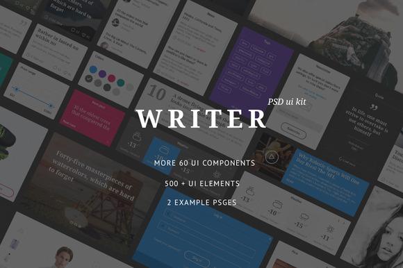 Writer UI Kit