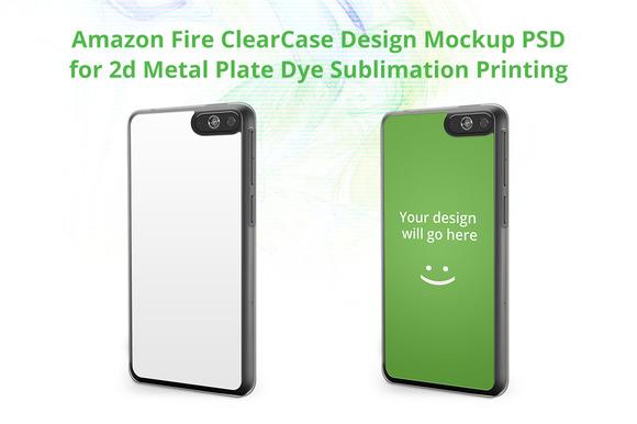 Amazon FirePhone ClearCase Mock-up