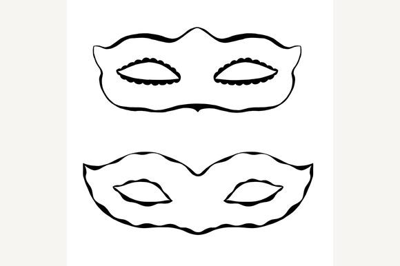 Hand Drawn Mask