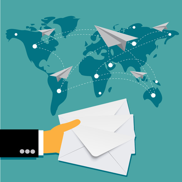Mail Delivery Business Vector
