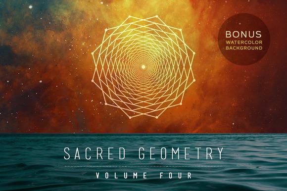 Sacred Geometry Vector Set Vol 4