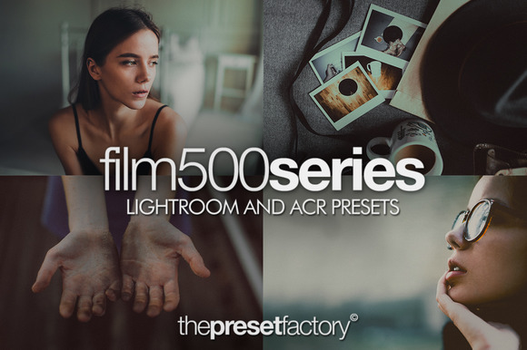 The Preset Factory - Film 500 Series for Lightroom and ACR