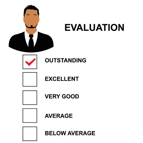 Evaluation Form Vector