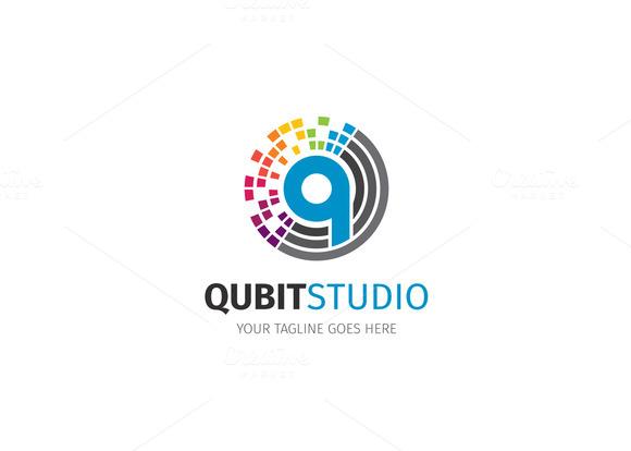 Pixel Letter Q L...Q Letter Logo
