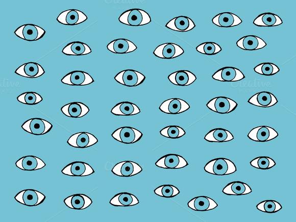 Blue Eyes Pattern