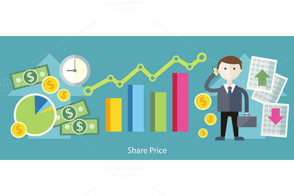 Share Price Exchange Concept Design
