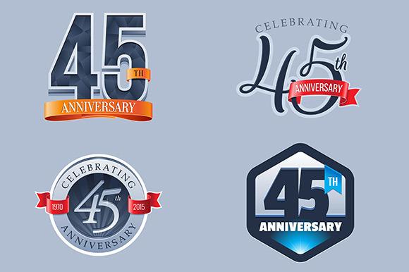 45th Anniversary Logo