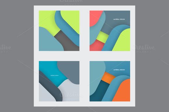 Modern material design set Vol.2 - Textures