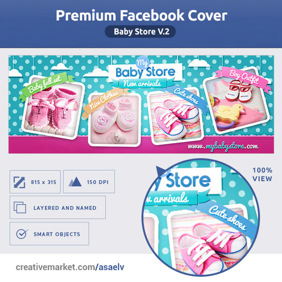 50% OFF- Baby Store FB COVER V2