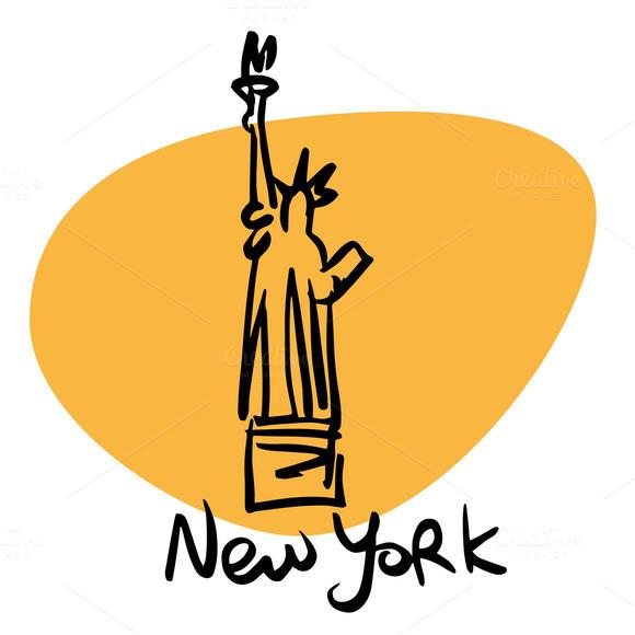 New York USA Statue Of Liberty