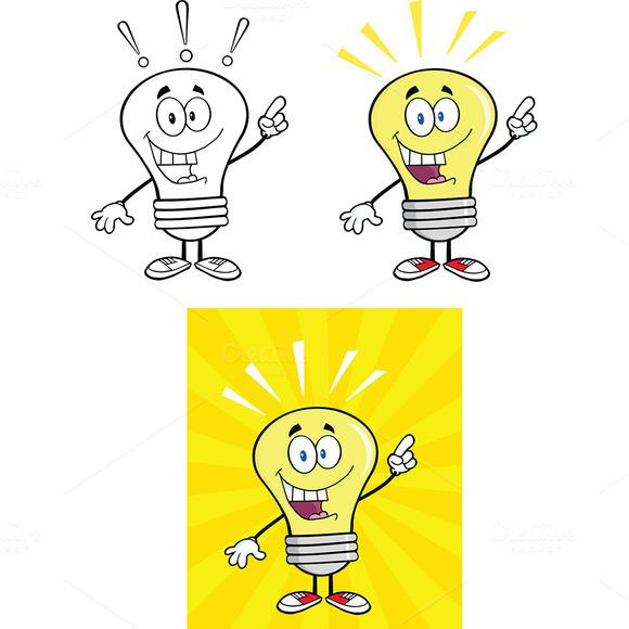 Yellow Light Bulbs Collection 15